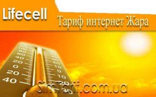 Новый тариф интернет Жара — лето обещает быть очень горячим